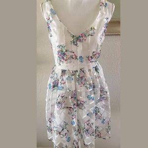 Anthopologie Maeve Peony Garden Dress Size 12P